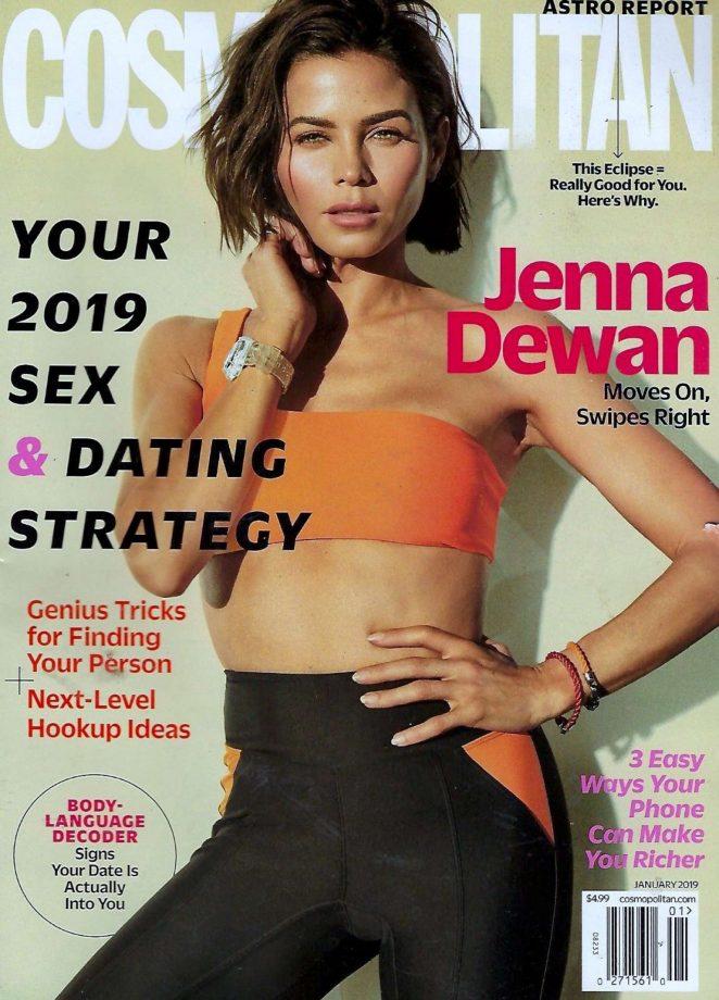 Jenna Dewan - Cosmopolitan Magazine Cover (January 2019)