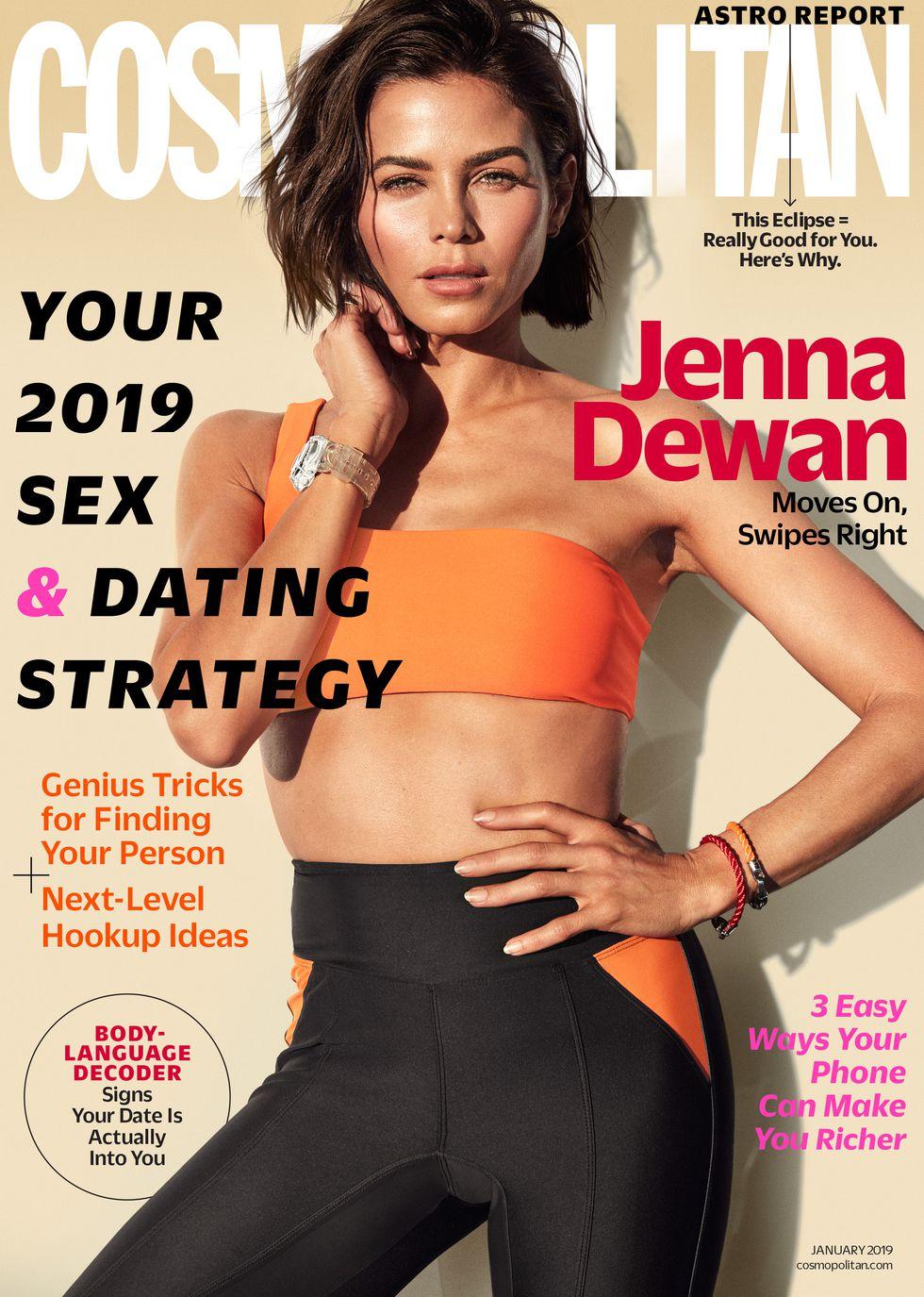 Jenna Dewan 2018 : Jenna Dewan: Cosmopolitan 2019 -02