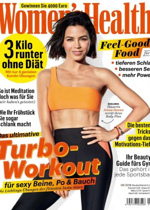 Jenna Dewan for Women's Health Germany (September 2018)