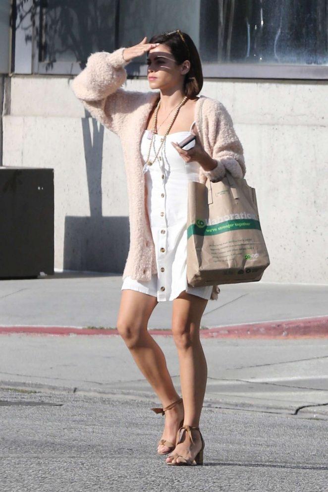 Jenna Dewan – Heading to Cedars-Sinai Hospital in Beverly Hills