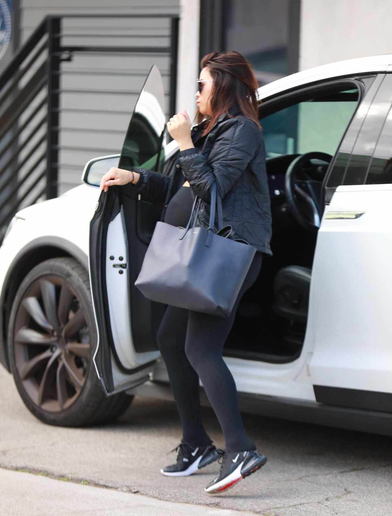 Jenna Dewan 2020 : Jenna Dewan heads to yoga class-06