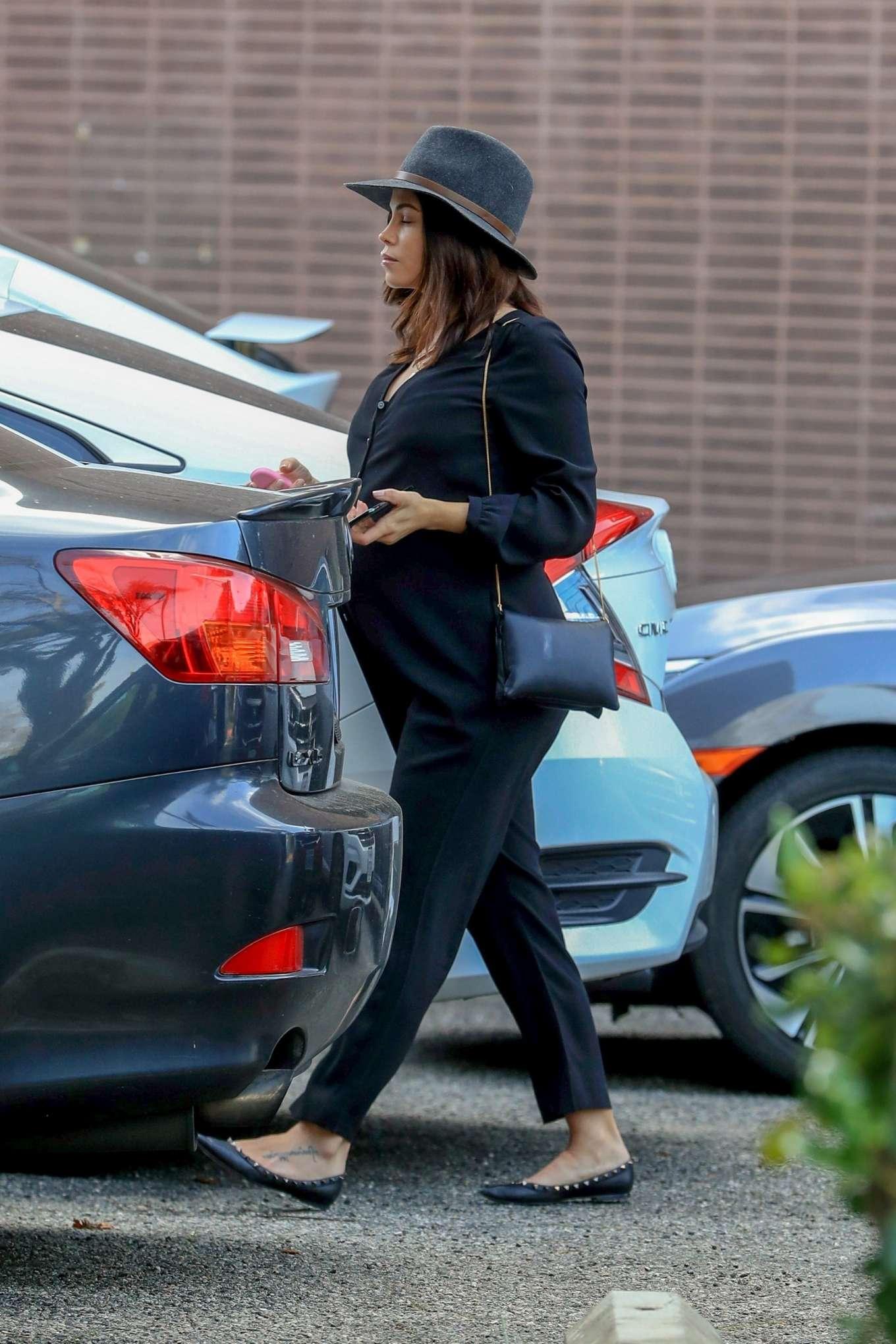 Jenna Dewan 2020 : Jenna Dewan in Black Jumpsuit – Out in Beverly Hills-11