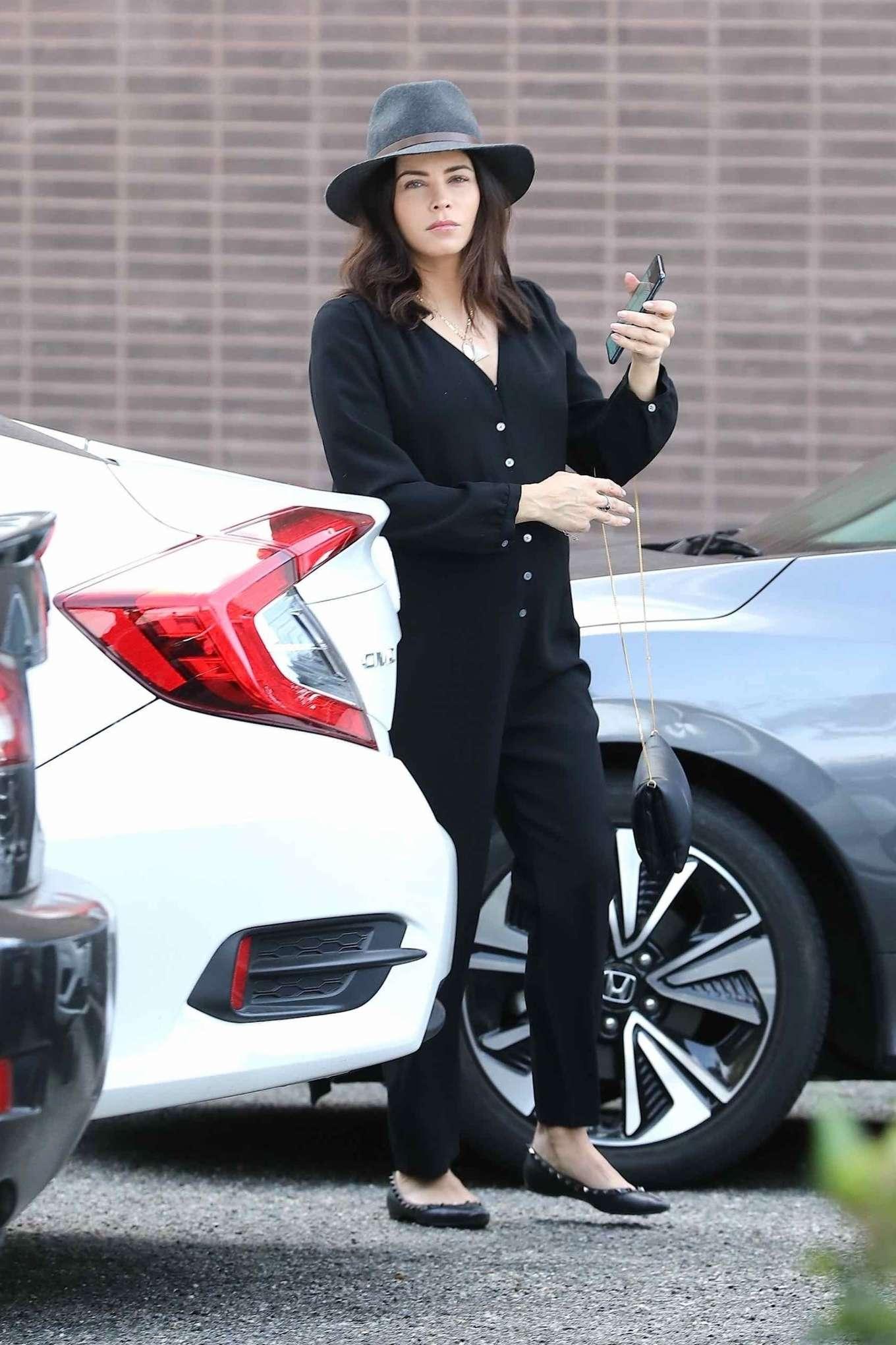 Jenna Dewan 2020 : Jenna Dewan in Black Jumpsuit – Out in Beverly Hills-13