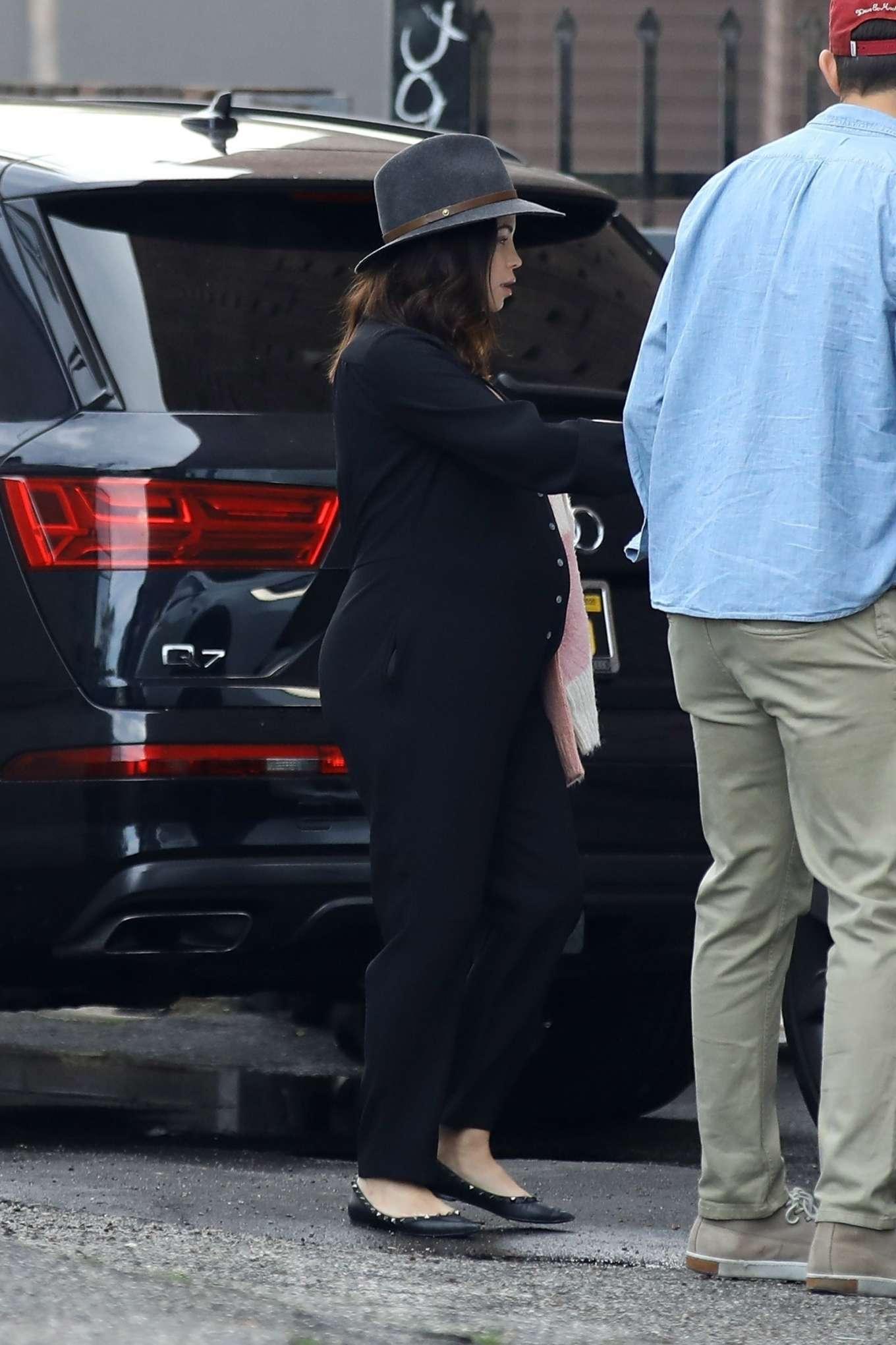 Jenna Dewan 2020 : Jenna Dewan in Black Jumpsuit – Out in Beverly Hills-20