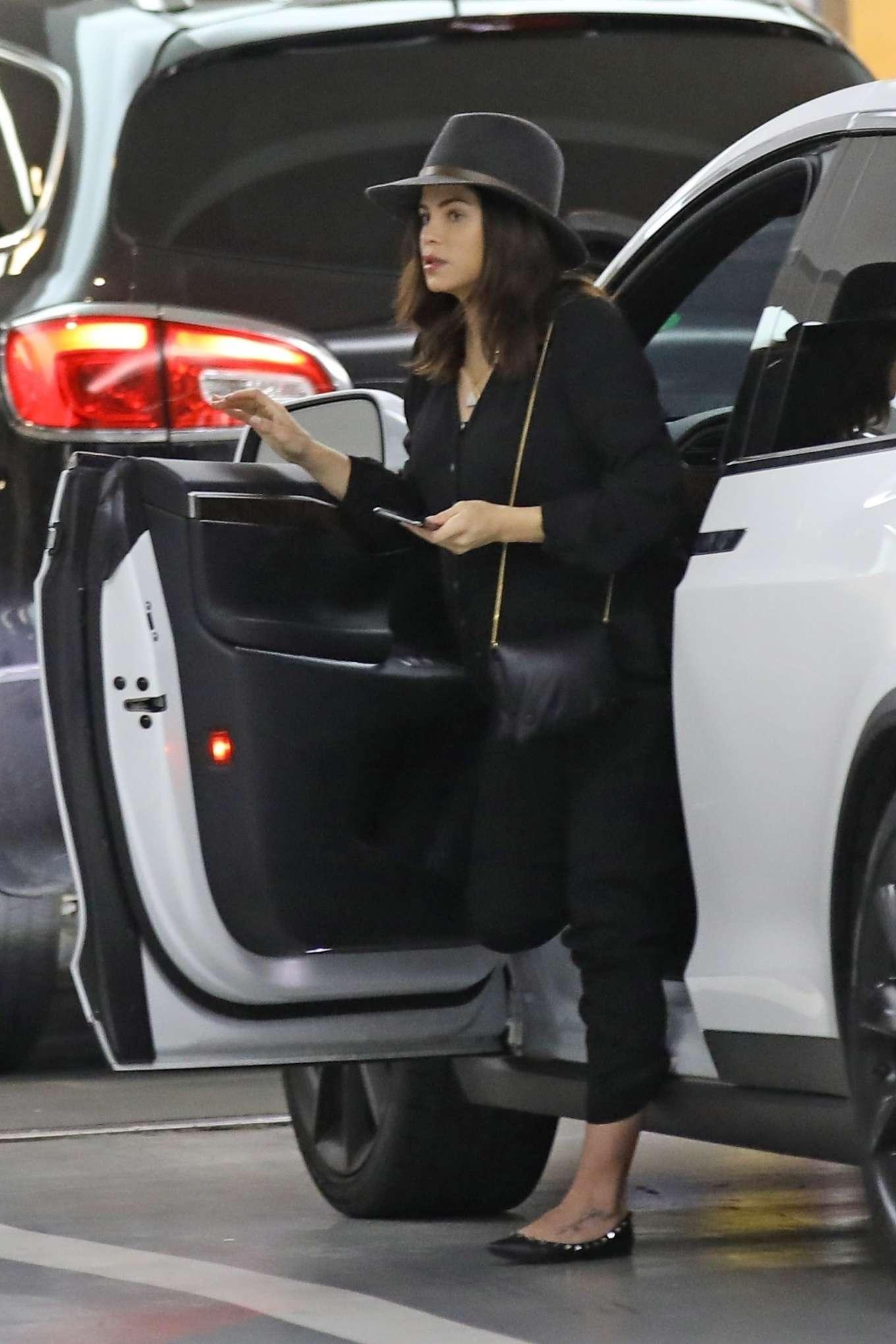 Jenna Dewan 2020 : Jenna Dewan in Black Jumpsuit – Out in Beverly Hills-24