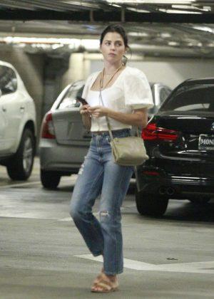 Jenna Dewan in Jeans - Out in LA