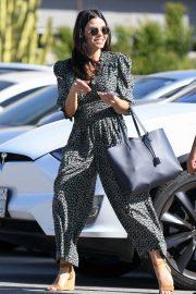 Jenna Dewan in Jumpsuit - Out in Los Angeles