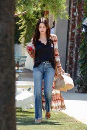 Jenna Dewan - Leaves HomeState Tex-Mex Restaurant in Los Angeles