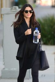 Jenna Dewan - Leaving a gym after a workout in Los Angeles