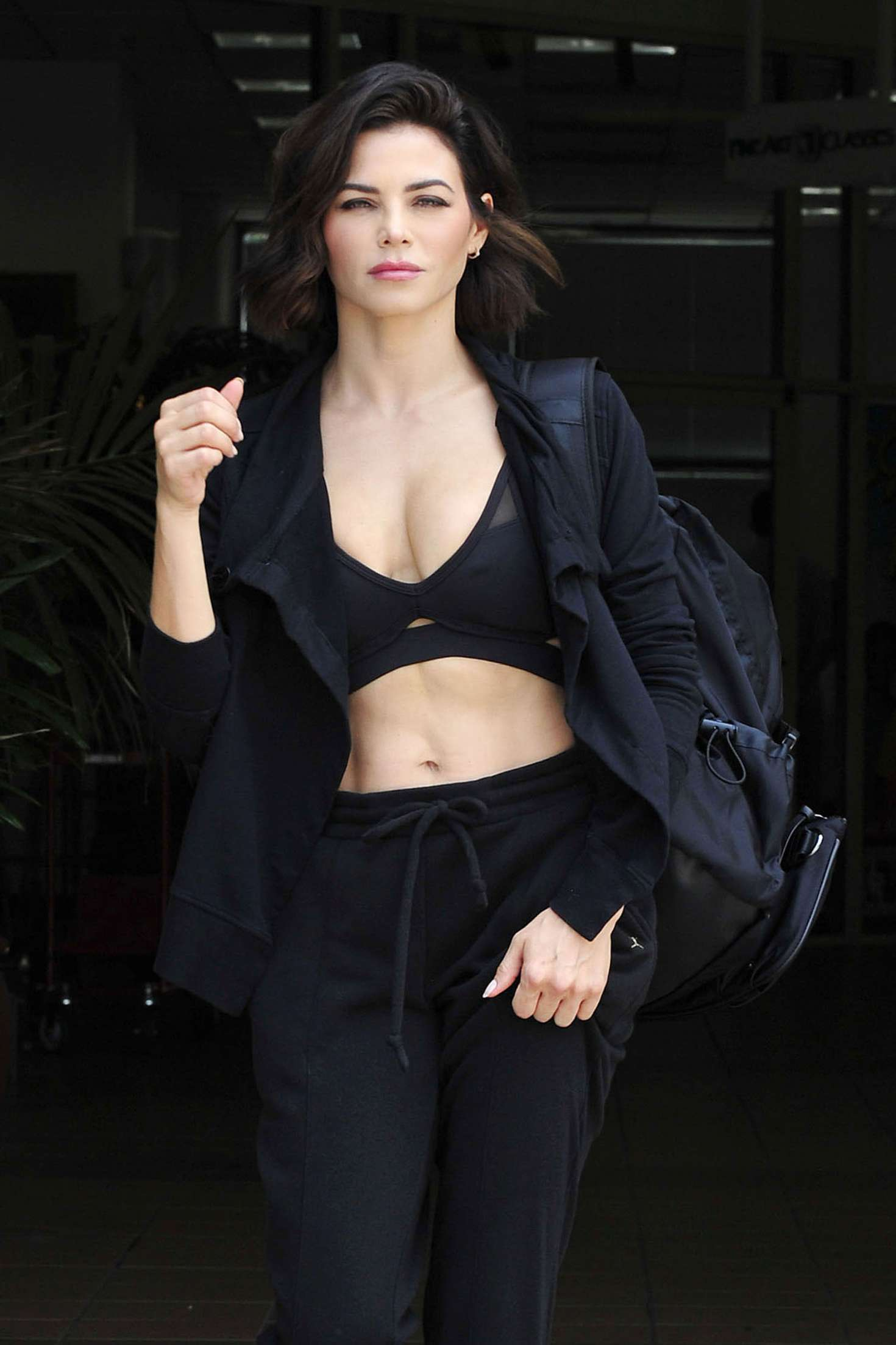 Jenna Dewan 2018 : Jenna Dewan: Leaving a workout class in LA -08