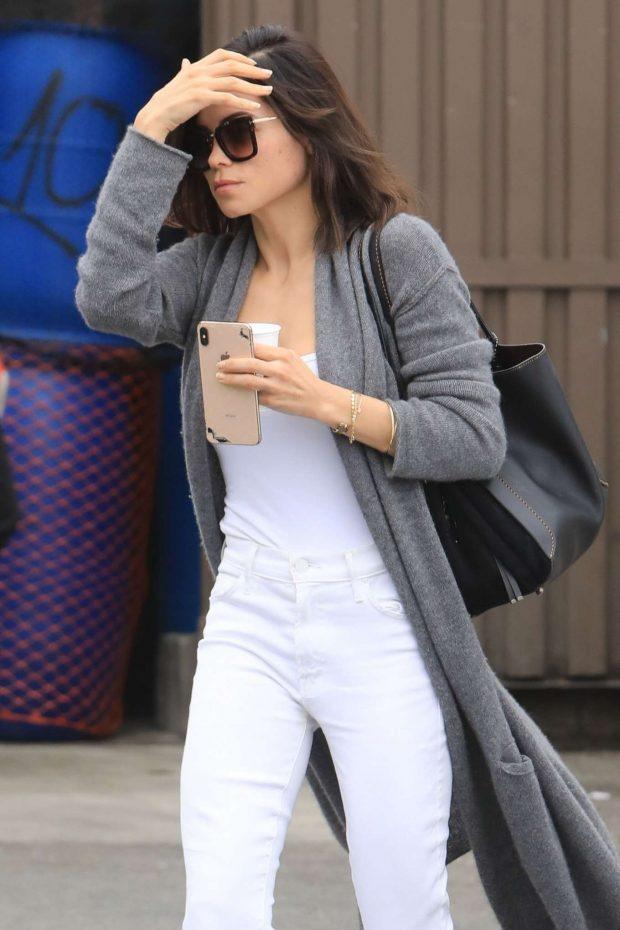 Jenna Dewan - Leaving Skin Thesis in West Hollywood