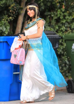 Jenna Dewan - Out for a Halloween party in LA