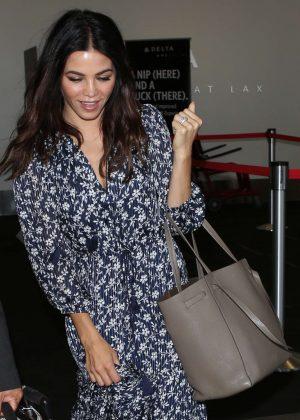 Jenna Dewan Tatum - Arrives at LAX Airport in Los Angeles
