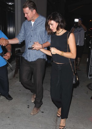 Jenna Dewan Tatum at Craig's Restaurant in West Hollywood