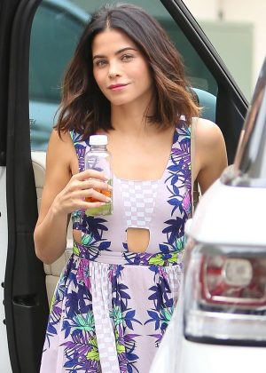 Jenna Dewan Tatum at Epione Skin Care in Beverly Hills