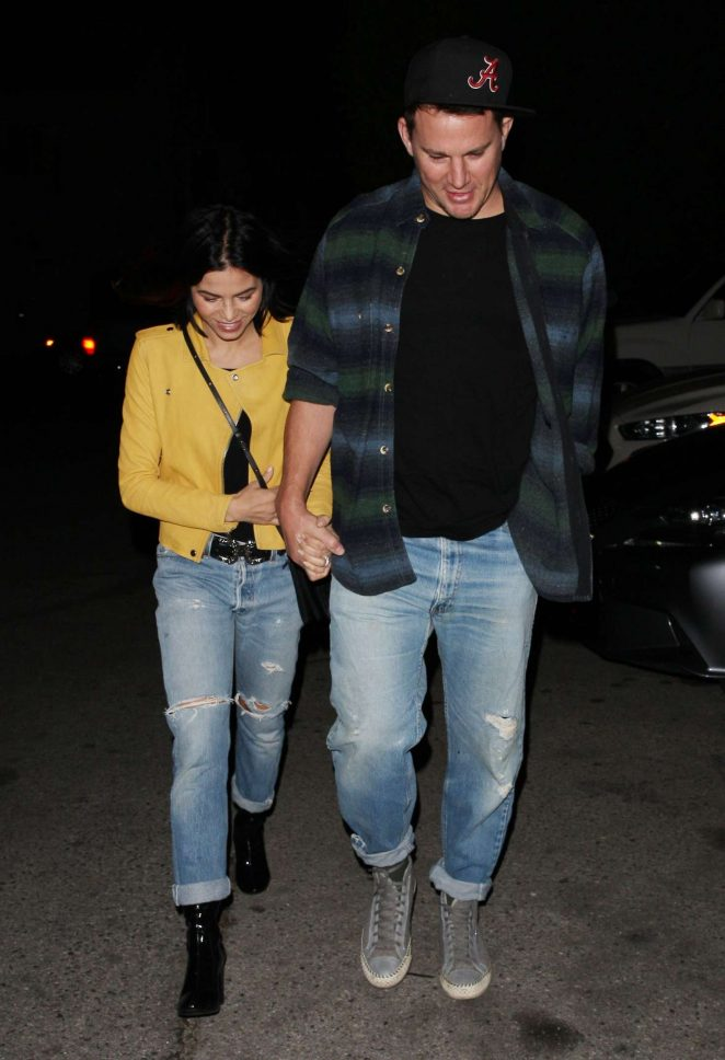 Jenna Dewan Tatum at The Groundlings Theatre in West Hollywood