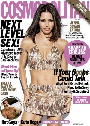 Jenna Dewan Tatum - Cosmopolitan US Magazine (January 2017)