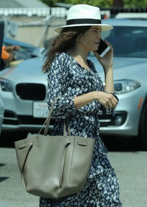 Jenna Dewan Tatum - Grabs lunch in West Hollywood