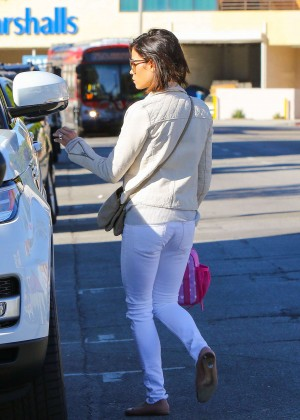 Jenna Dewan Tatum in Jeans out in LA