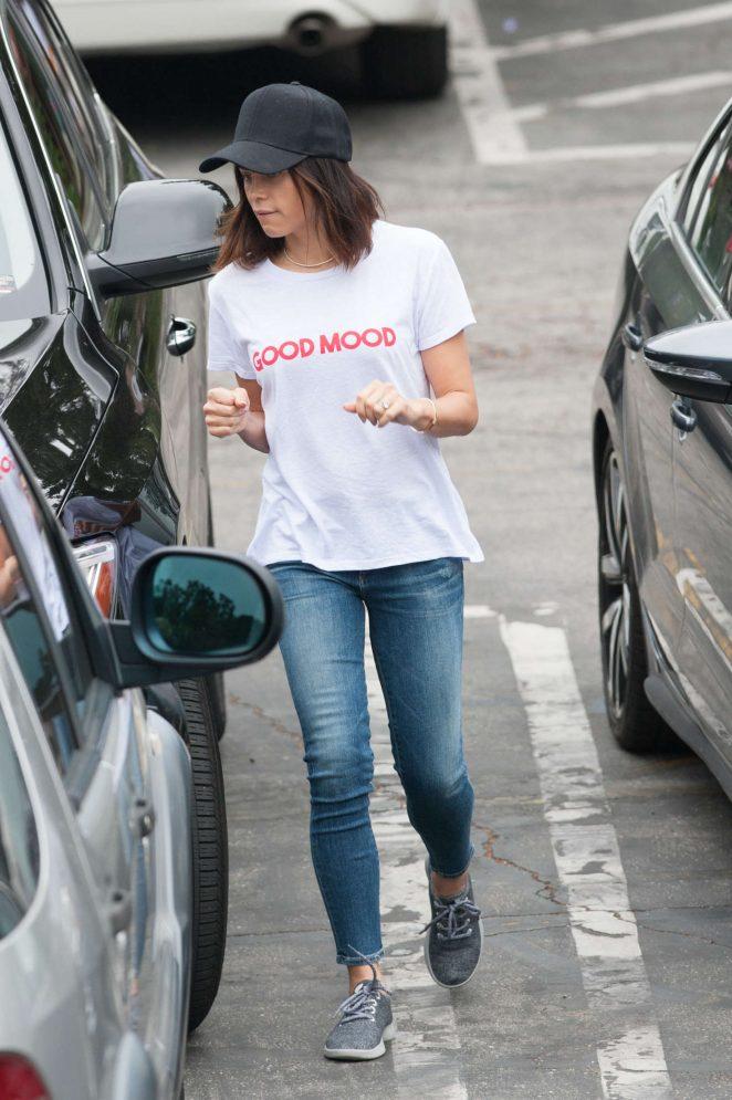 Jenna Dewan Tatum in Jeans out in Los Angeles