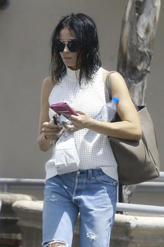 Jenna Dewan Tatum in Jeans out in Studio City
