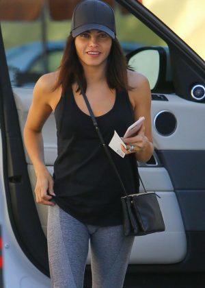 Jenna Dewan Tatum in Leggings out in Beverly Hills