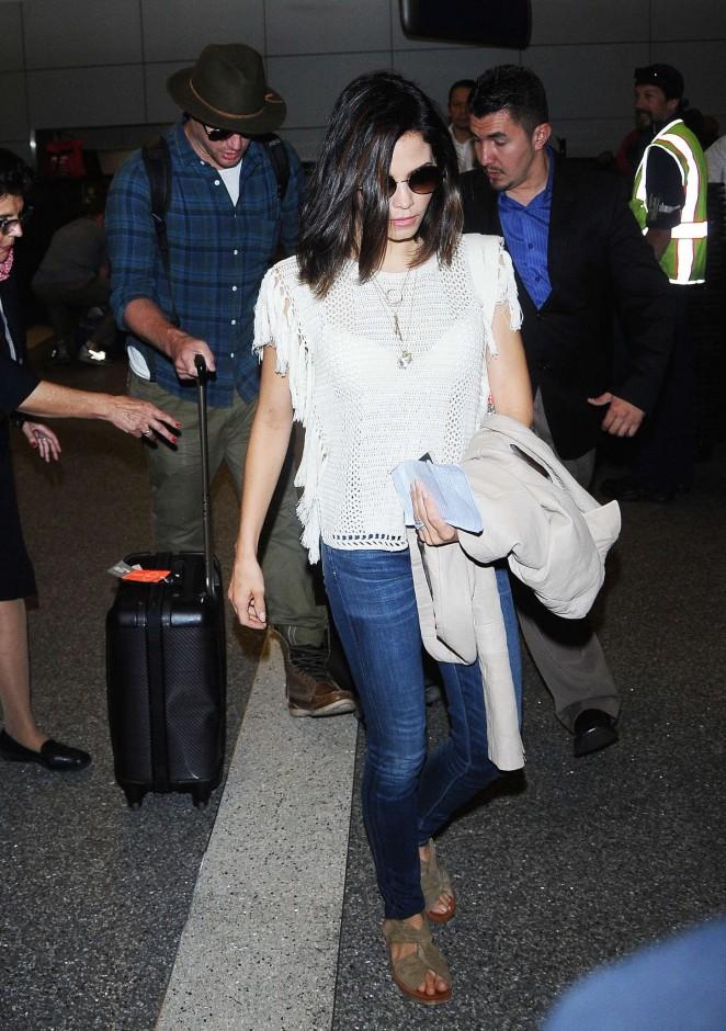 Jenna Dewan Tatum - LAX airport in LA