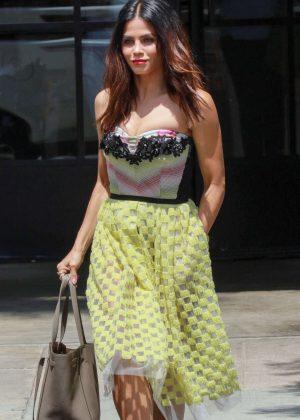 Jenna Dewan Tatum leaves Joan's on Third in Hollywood