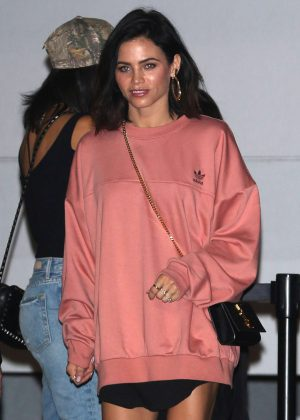 Jenna Dewan Tatum - Leaves Kanye West's Saint Pablo LA Tour in Inglewood