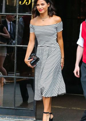 Jenna Dewan Tatum Leaves the Bowery Hotel in New York City