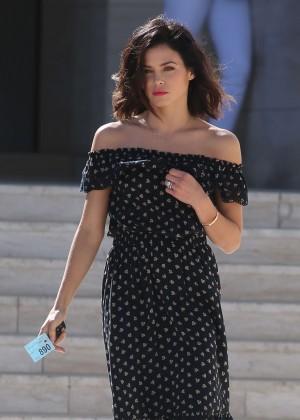 Jenna Dewan Tatum - Leaving a Photoshoot at Milk Studios in Los Angeles