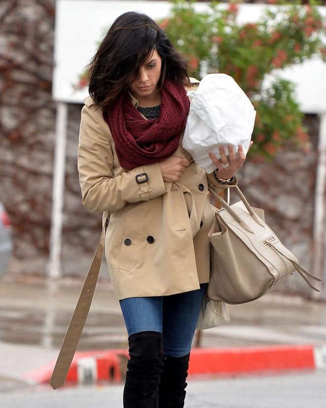 Jenna Dewan Tatum Leaving a Salon in LA