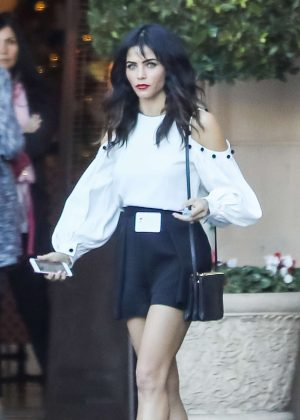 Jenna Dewan Tatum Leaving business lunch in Beverly Hills