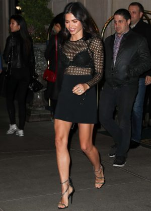 Jenna Dewan Tatum Leaving her hotel in New York City