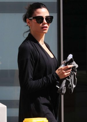 Jenna Dewan Tatum - Leaving Soul Cycle in West Hollywood