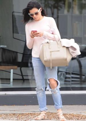 Jenna Dewan Tatum in Ripprd Jeans Out in LA