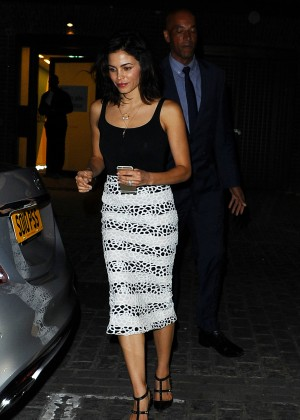 Jenna Dewan Tatum - Out for dinner in London
