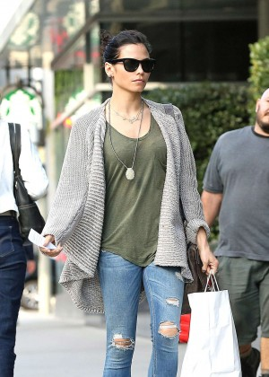 Jenna Dewan Tatum - Out for lunch in Los Angeles