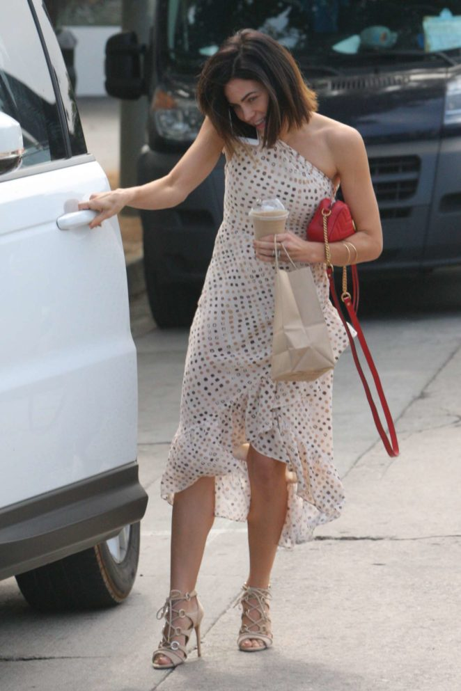 Jenna Dewan Tatum out in Beverly Hills