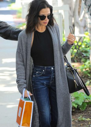 Jenna Dewan Tatum - Shopping at Melrose Place in West Hollywood