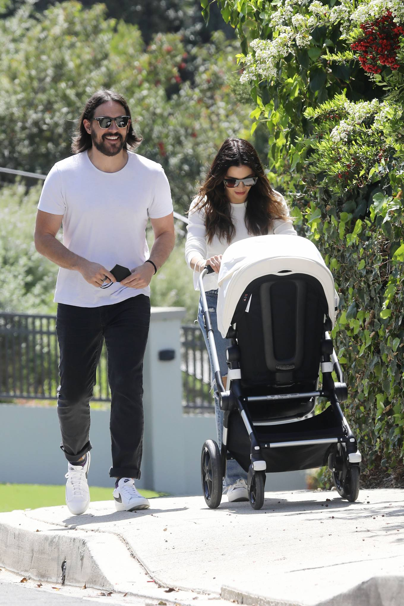 Jenna Dewan - With Steve Kazee with their baby boy out in Los Angeles