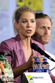 Jenna Elfman - 'Fear the Walking Dead' Panel at Comic Con San Diego 2019