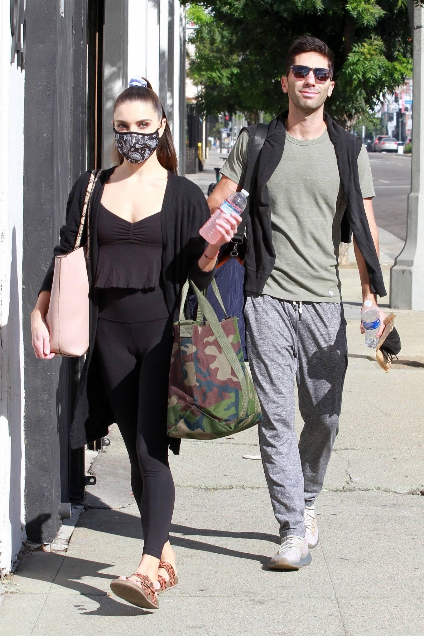 Jenna Johnson 2020 : Jenna Johnson – Arriving at a dance studio in Los Angeles-11