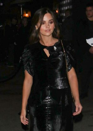 Jenna Louise Coleman - Arrives for the Vanity Fair Party in LA
