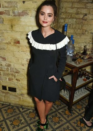 Jenna-Louise Coleman at Burberry & Evgeny BAFTA Event in London