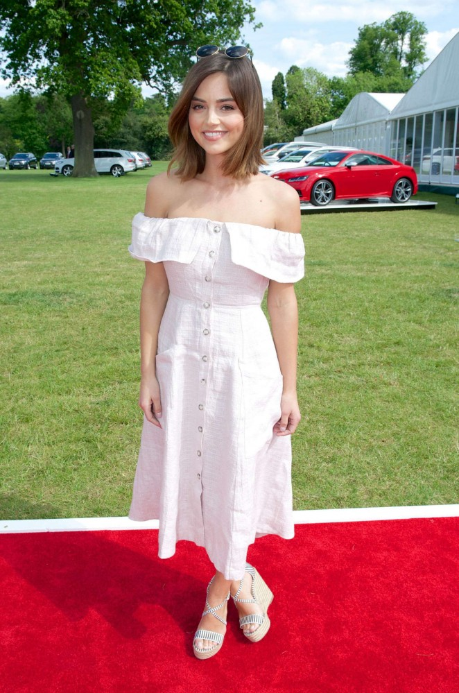 Jenna Louise Coleman - Audi Polo Challenge in London
