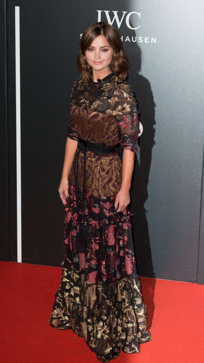 Jenna Louise Coleman - BFI Luminous Fundraising Gala in London