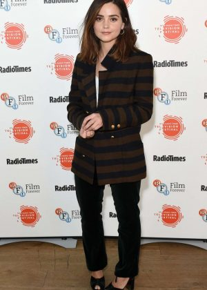 Jenna-Louise Coleman - BFI Radio Times TV Festival in London