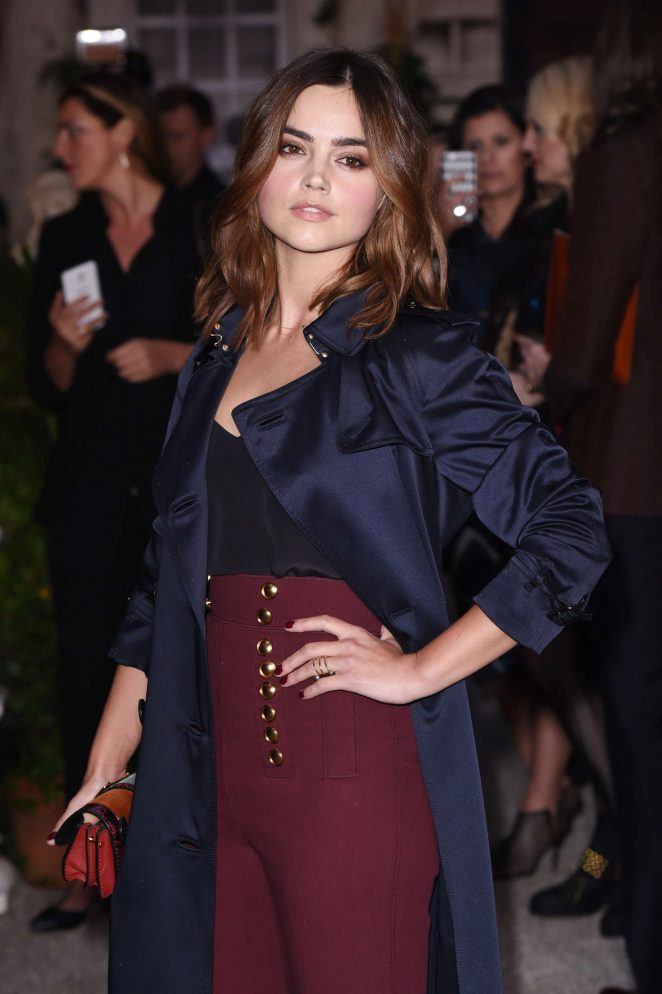 Jenna Louise Coleman - Burberry Show 2016 at London Fashion Week