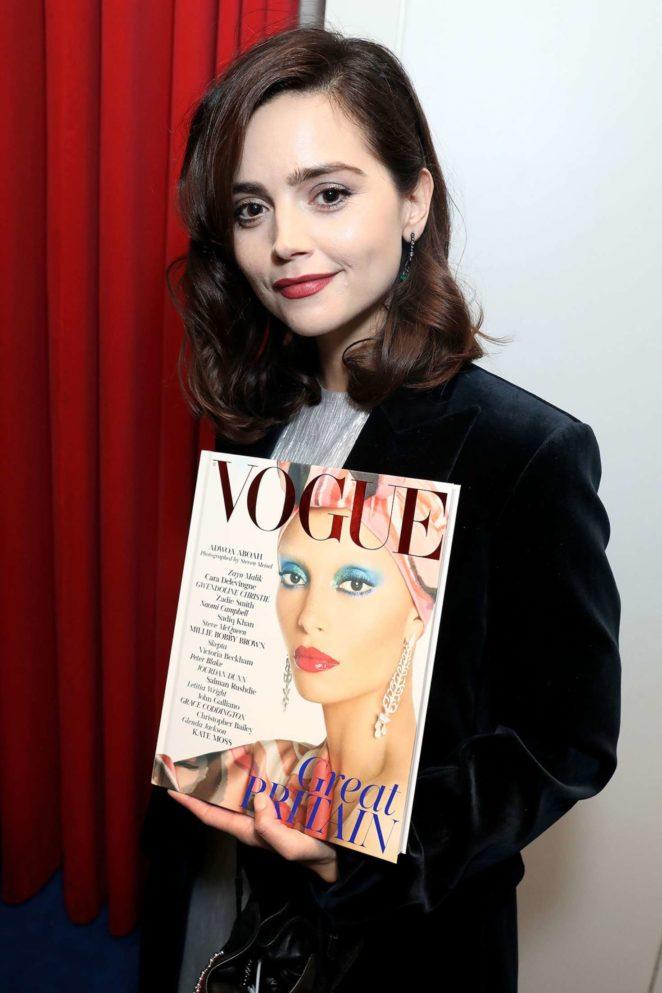 Jenna Louise Coleman - Dinner Celebrating British Vogue's December Issue in London